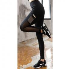 กางเกงออกกำลังกาย  Mesh Stripe No. 2 (สีดำ) - มีให้เลือก 2 ไซส์ S และ M