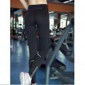 กางเกงออกำลังกาย Quick Dry Fitness Pants สีดำ มีซิป - มีให้เลือก 3ไซส์ S M L