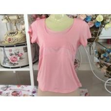 UNIQLO dry fit เสื้อออกกำลังกายเล่นฟิตเนตโยคะสีสวยหวานไซส์m