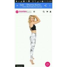 dhamar bums-Yoga Legging-Full Length